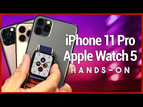 iPhone 11 Pro & Apple Watch Series 5 Unboxing - First Look at 3-Camera iPhone & Always-On Smartwatch