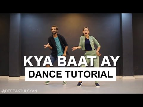 Kya Baat Ay Dance Tutorial | Bollywood Dance Tutorial | Deepak Tulsyan | Hindi