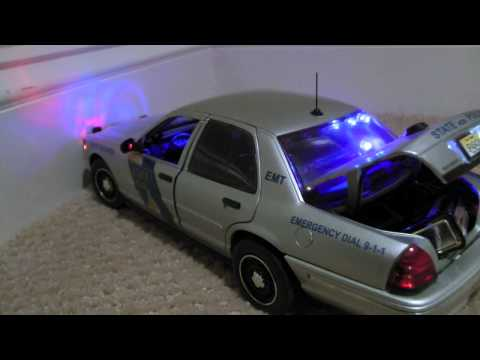 1/18 Scale Police Cars For Sale: My Collection.... 1080p Full HD