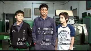 preview picture of video 'alumnos de 2º año B en I.P.E.T 52'