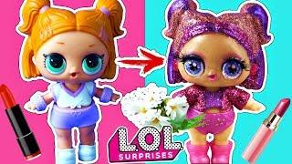 Трансформация куклы лол сюрприз ооак в салоне красоты! Мультики ЛОЛ – все серии подряд! LOL dolls