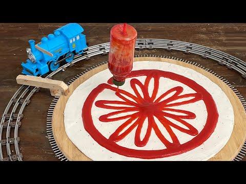 Making the Perfect Pizza the Rube Goldberg Way