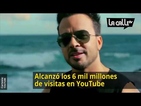 ¡6 mil millones de views! Despacito sigue rompiendo records en YouTube