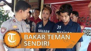 Tega Bakar Teman Gara-gara Rokok, Dua Pemuda Asal Semarang Diciduk