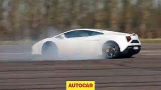 [Autocar] What happens to a Lamborghini Gallardo when you switch traction control off?