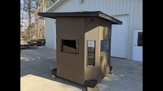 Octagon Hunting Blind Build - Part 1