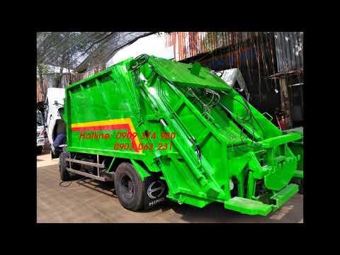 Xe Ép và chở rác Hino - Tín Nhân Auto