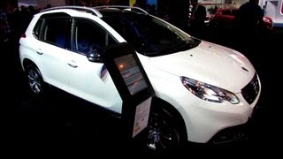 2014 Peugeot 2008 Allure Diesel   Exterior And Interior Walkaround   2013 Frankfurt Motor Show