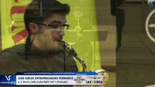 Juan Carlos Entrambasaguas Fernandez plays Suite Cello BWV1011 Prelude by J S  Bach