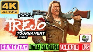 Guns of Boom Trejo Tournament Stage 2 Gameplay 4k 60fps