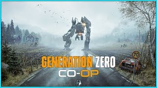 Generation Zero Co-Op Gameplay Part 1 - The Robots Attack | Early Access First Look