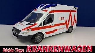 DICKIE TOYS KRANKENWAGEN / Ambulance Van [Vorstellung]