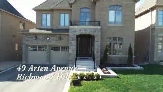 49 Arten Avenue, Richmond Hill [Real Estate Video]