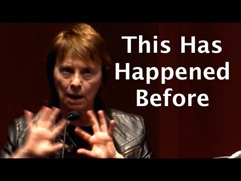 Camille Paglia. Femanist, researcher and  lesbian, warning that transgenderism is a sign of a collapsing society.