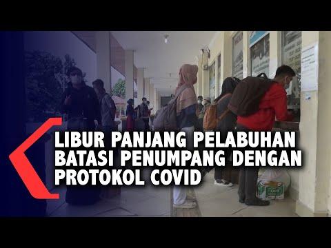 libur panjang pelabuhan batasi penumpang dengan protokol covid