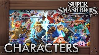 Super Smash Bros. Ultimate - All 68 Characters