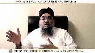 4. Ruqya, Ta'weez, Amulets and Shirk