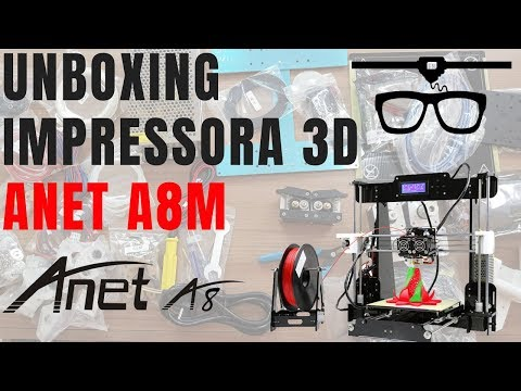 Unboxing Anet A8m