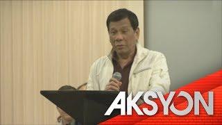 Pres. Duterte, may paalala kay Bong Go tungkol sa korupsyon