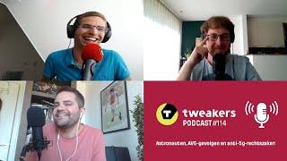 Tweakers Podcast #114 - Astronauten, AVG-gevolgen en anti-5g-rechtszaken