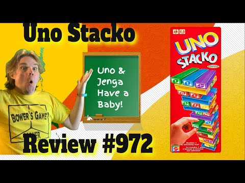 Bower's Game Corner: UNO Stacko Review