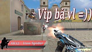 Bình Luận CF  AK12 VIP <b>Iron </b>Spider  Nhân Vật Athena  Quang Brave