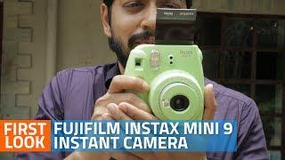 Fujifilm Kamera Polaroid Instax Mini 9 Camera Instax Paket Standard Garansi Resmi