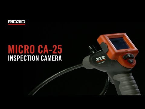RIDGID micro CA-25 Inspection Camera