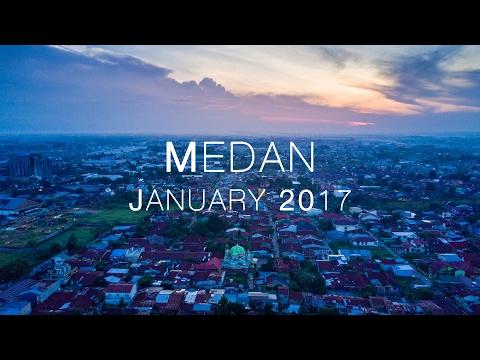 Medan City in 4K
