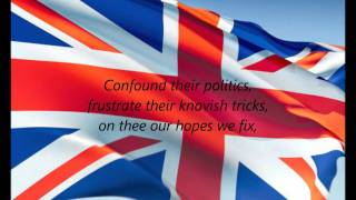 "British National Anthem - ""God Save The Queen"" (EN)"