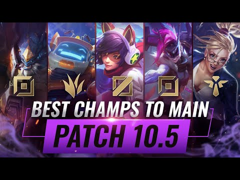 3 BEST Champions To MAIN For EVERY ROLE in Patch 10.5 - League of Legends Season 10