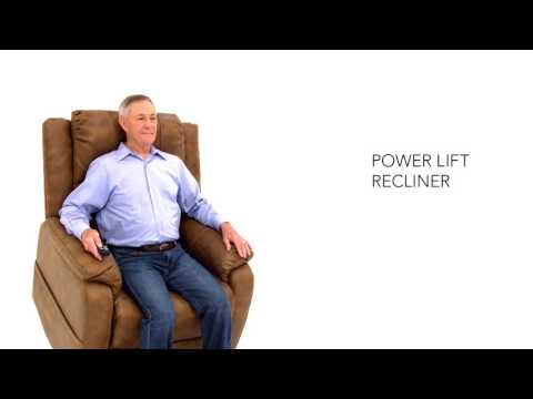 Yandel Saddle Power Lift Recliner image 1