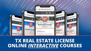 Champions School Online Interactive Courses - Get Your Real Estate License Education on a Mobile App - ONLINE