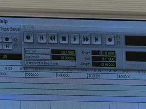 Advanced Pro Tools Tutorial, Part 1: Counter and Transport