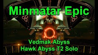 Minmatar Epic Finish, Vedmak Abyss, Hawk Abyss - !giveaway - EVE Online