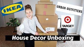 Unboxing House Decor   Mid Century Modern Boho