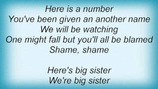 Dio - Big Sister Lyrics