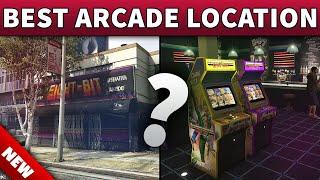 GTA 5 Best Arcade Location To Buy | GTA ONLINE NEW BEST CASINO DLC HEIST ARCADE LOCATION TO OWN