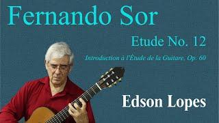 Etude, Op. 60, No. 12 (F. Sor)