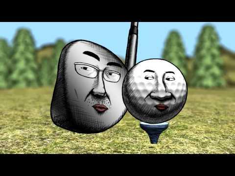 【ぴったらず】 びびるゴルフボール