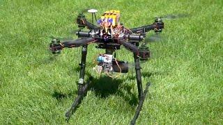 X8 Octocopter - RCTESTFLIGHT