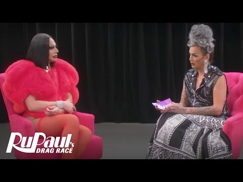 The Pit Stop w/ Raja & Raven   RuPaul's Drag Race (Season 9 Ep 10)   Now on VH1