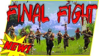 NEW Final Fight Mode CLUTCH! Outnumbered by 20! - Fortnite Gameplay