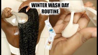 Winter Wash Day Routine