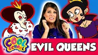 Ms. Booksy Meets Evil Queens! | Cool School Compilation