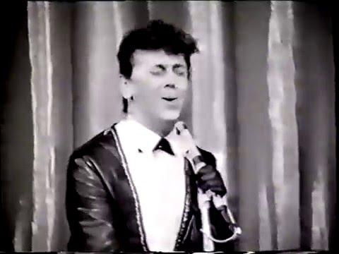Gene Vincent en tournée avec Les Sunlights (1963)