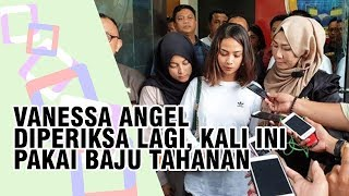 BREAKING NEWS: Vanessa Angel Diperiksa Lagi, Sudah Pakai Baju Tahanan dan Tangannya Diborgol