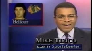 ESPN SportsCenter clips with commercials (October 29, 1991)