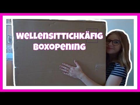 Wellensittichkäfig Boxopening / Unser neuer Wellensittichkäfig