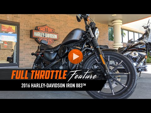 2016 Harley-Davidson Iron 883™ in Mentor, Ohio - Video 1